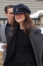 KEIRA KNIGHTLEY Out at Sundance Film Festival in Park City 01/21/2018