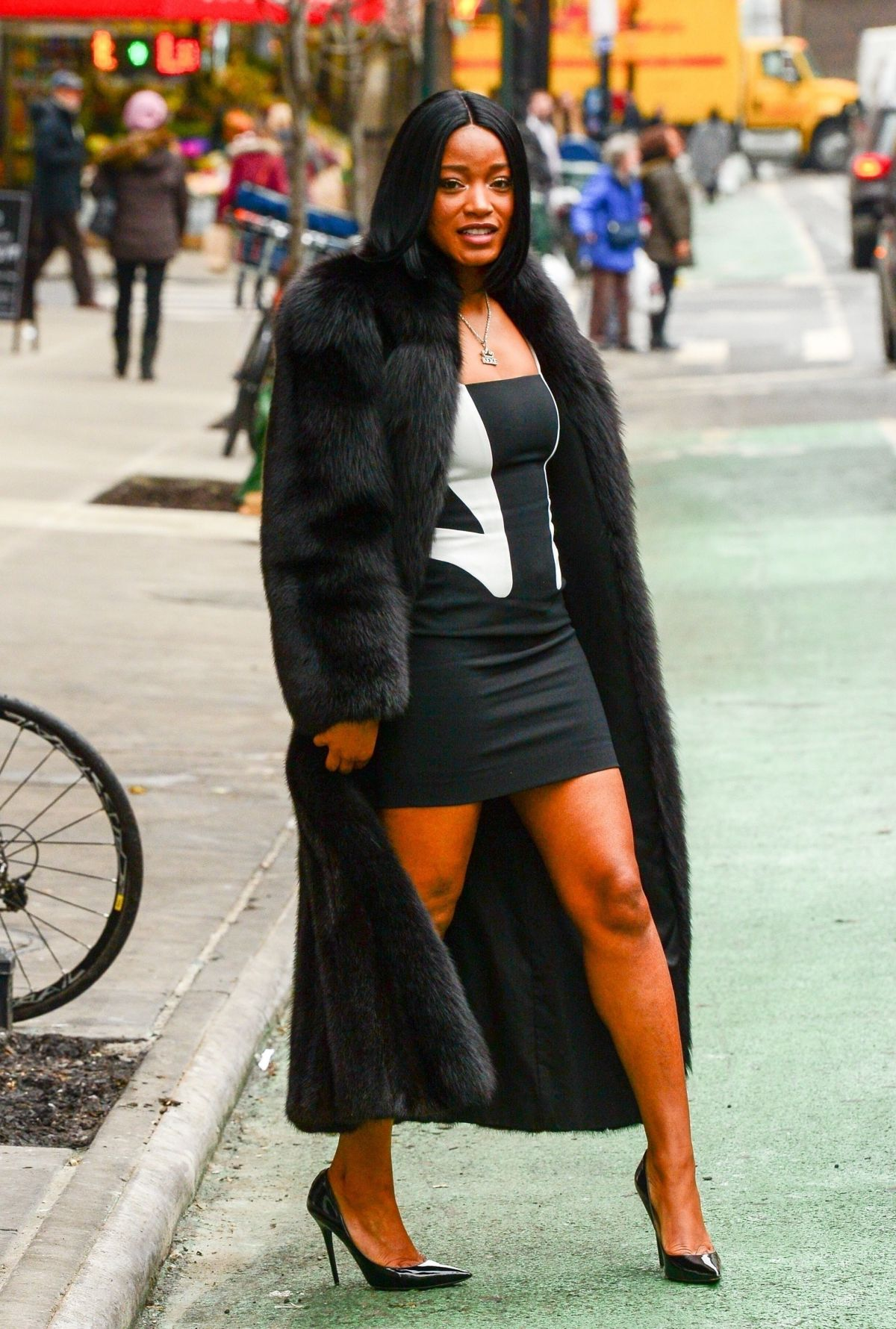 KEKE PALMER Out and About in New York 01/13/2018 - HawtCelebsKeke Palmer Rolling Out