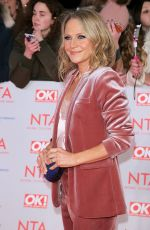 KELLIE BRIGHT at National Television Awards in London 01/23/2018