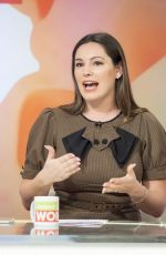 KELLY BROOK at Loose Women TV Show in London 01/05/2018
