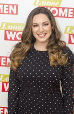 KELLY BROOK at Loose Women TV Show in London 01/29/2018