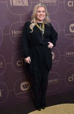 KELLY CLARKSON at Delta Airlines Pre-grammy Party in New York 01/25/2018