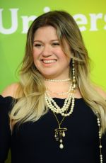 KELLY CLARKSON at NBC/Universal TCA Winter Press Tour in Los Angeles 01/09/2018
