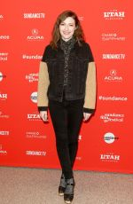KELLY MACDONALND at Puzzle Premiere at Sundance Film Festival 01/23/2018