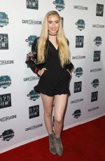 KELSEY LEE at Cafe Con Leche Premiere in Los Angeles 01/25/2018