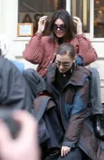 KENDALL JENNER and HAILEY BALDWIN Out Shopping in New York 01/28/2018
