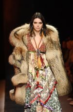 KENDALL JENNER at Dsquared2 Fashion Show in Milan Men