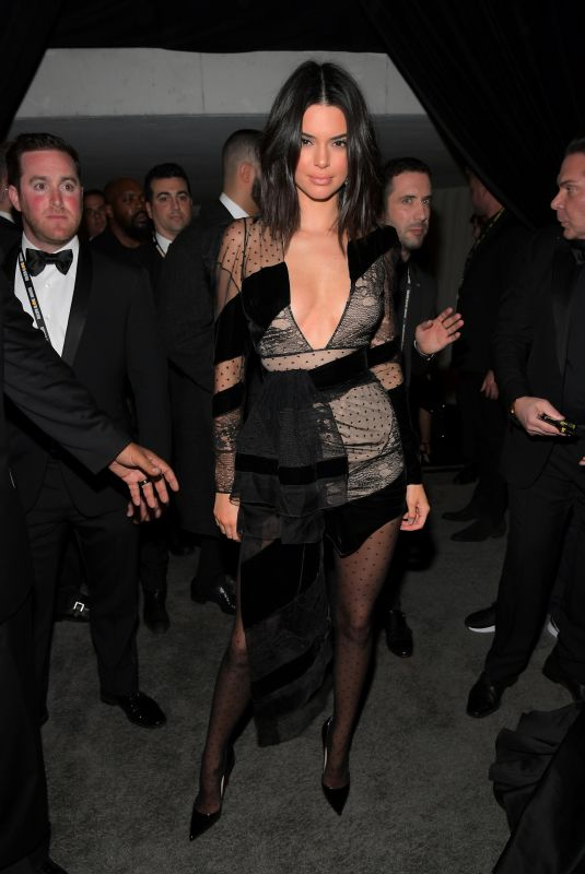 KENDALL JENNER at Instyle and Warner Bros Golden Globes After-party in Los Angeles 01/07/2018