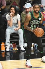KENDALL JENNER at LA Clippers vs Boston Celtics Game in Los Angeles 01/24/2018