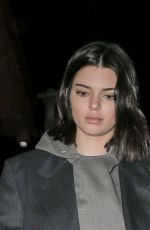 KENDALL JENNER Night Out in New York 01/27/2018