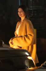 KENDALL JENNER Out for Dinner in West Hollywood 01/18/2018