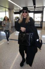 KHLOE KARDASHIAN at LAX Airport in Los Angeles 01/12/2018