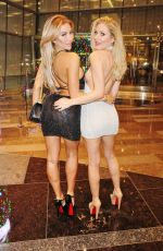 KHLOE TRAE, HOLLY WOLF, CJ SPARXX and ANYA BENTON Night Out in Las Vegas 01/19/2018