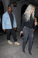 KIM KARDASHIAN and Kanye West Out in Los Angeles 01/12/2018