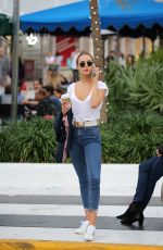 KIMBERLEY GARNER Out and About in Miami 01/10/2018
