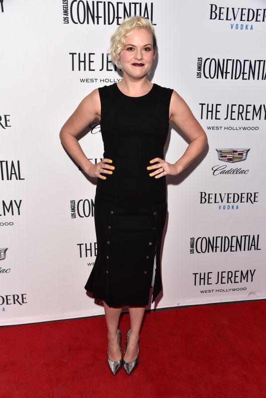 KIMMY GATEWOOD at Los Angeles Confidential Celebrates Awards Issue in West Hollywod 01/13/2018