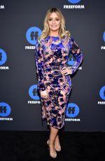 KIRBIE JOHNSON at 2018 Freeform Summit in Hollywood 01/18/2018