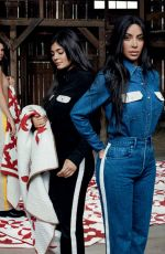 KOURTNEY, KIM and KHLOE KARDASHIAN and KENDALL and KYLIE JENNER for Calvin Klein 2018 Campaign
