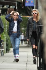 KRISTEN STEWART and STELLA MAXWELL Out and About in Los Angeles 01/19/2018