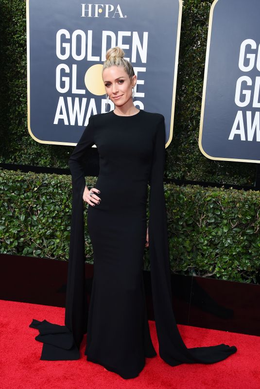 KRISTIN CAVALLARI at 75th Annual Golden Globe Awards in Beverly Hills 01/07/2018