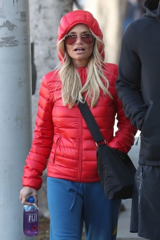 KRISTIN CHENOWETH Out and About in Los Angeles 01/20/2018