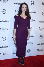 KRISTIN DAVIS at Marie Claire Image Makers Awards in Los Angeles 01/11/2018