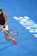 KRISTINA MLADENOVIC at Practice Session at Australian Open Tennis Tournament in Melbourne 01/13/2018