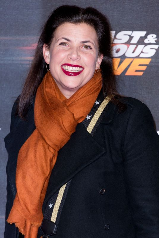 KKIRSTIE ALLSOPP at Fast and Furious Live at O2 Arena in London 01/19/2018