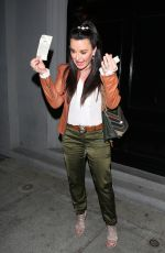 KYLE RICHARDS Out for Dinner at Craig