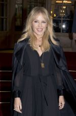 KYLIE MINOGUE at Schiaparelli Haute Couture Spring/Summer 2018 Show in Paris 01/22/2018