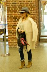 KYLIE MINOGUE at St Pancras Station in London 01/15/2018