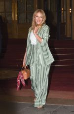 KYLIE MINOGUE Leaves Ritz Hotel in Paris 01/17/2018