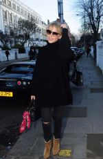 KYLIE MINOGUE Out Shopping in London 01/26/2018