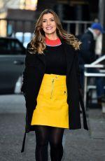 KYM MARSH Arrives at ITV Studios in London 01/30/2018