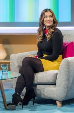 KYM MARSH at Lorraine Show in London 01/30/2018