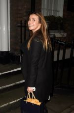 KYM MARSH Night Out in Liverpool 01/09/2018