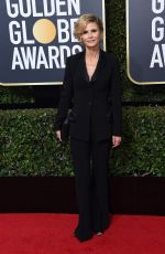 KYRA SEDGWICK at 75th Annual Golden Globe Awards in Beverly Hills 01/07/2018