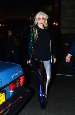 LADY GAGA and Christian Carino Arrives at Their Hotel in New York 01/29/2018