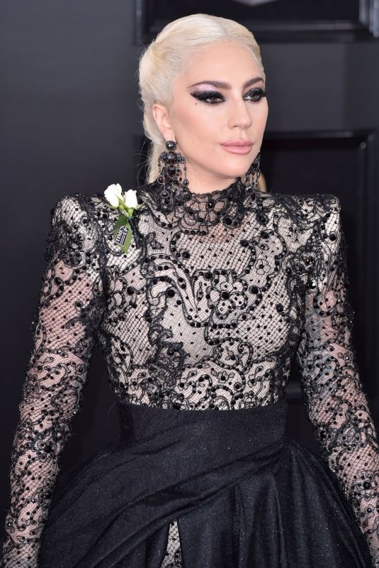 LADY GAGA at Grammy 2018 Awards in New York 01/28/2018
