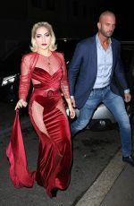 LADY GAGA Leaves Her Hotel in Milan 01/17/2018