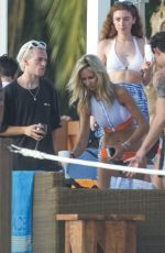 LADY VICTORIA HERVEY at a Pool Party in Barbados 01/02/2018