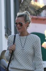 LAETICIA HALLYDAY Out and About in Los Angeles 01/20/2018