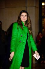 LAKE BELL at Giorgio Armani Prive Show at 2018 Haute Couture Fashion Week in Paris 01/23/2018