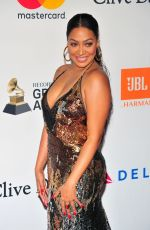 LALA ANTHONY at Clive Davis and Recording Academy Pre-Grammy Gala in New York 01/27/2018