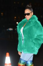 LALA ANTHONY Night Out in New York 01/23/2018