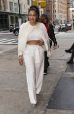 LALA ANTHONY Out for Lunch at Bubby