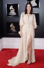 LANA DEL REY at Grammy 2018 Awards in New York 01/28/2018