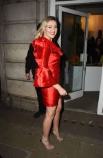 LARISSA EDDIE Arrives at Hello Love Robinsons Event in London 01/30/2018
