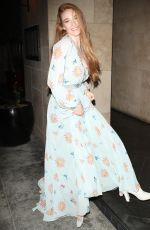 LARSEN THOMPSON Arrives at Sixty Event in Los Angeles 01/18/2018
