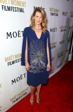 LAURA DERN at 3rd Annual Moet Moment Film Festival Golden Globes Week in Los Angeles 01/05/2018